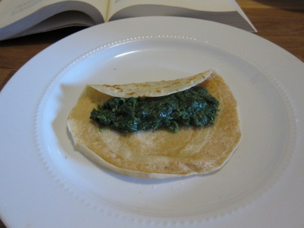 spinach crepee